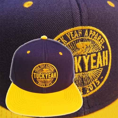 "Cappello SnapBack visiera piatta - TUCK YEAH ""Logo"""