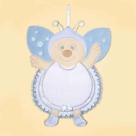 Coccarda nascita Bebè personalizzabile - Coccinella