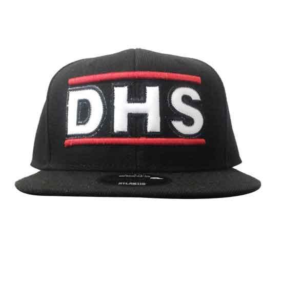 "Cappello SnapBack visiera piatta - TUCK YEAH ""DHS"""