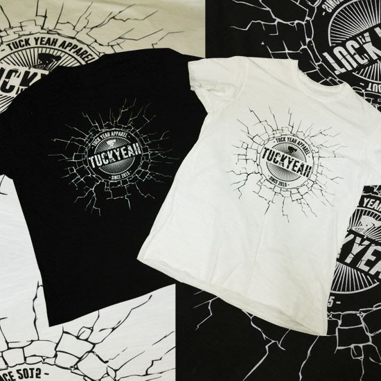 T-shirt Logo TUCK YEAH