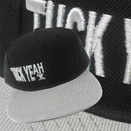 "Cappello SnapBack visiera piatta - TUCK YEAH ""Mini Logo"""