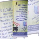 "Banner "" Roll UP "" avvolgibile in PVC"