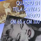Quadro in tela con la tua foto preferita (MEDIO)
