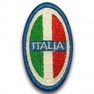 Scudetto Italia ovale